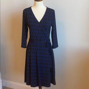 41 Hawthorn Renesme Jersey Faux Wrap Dress sM